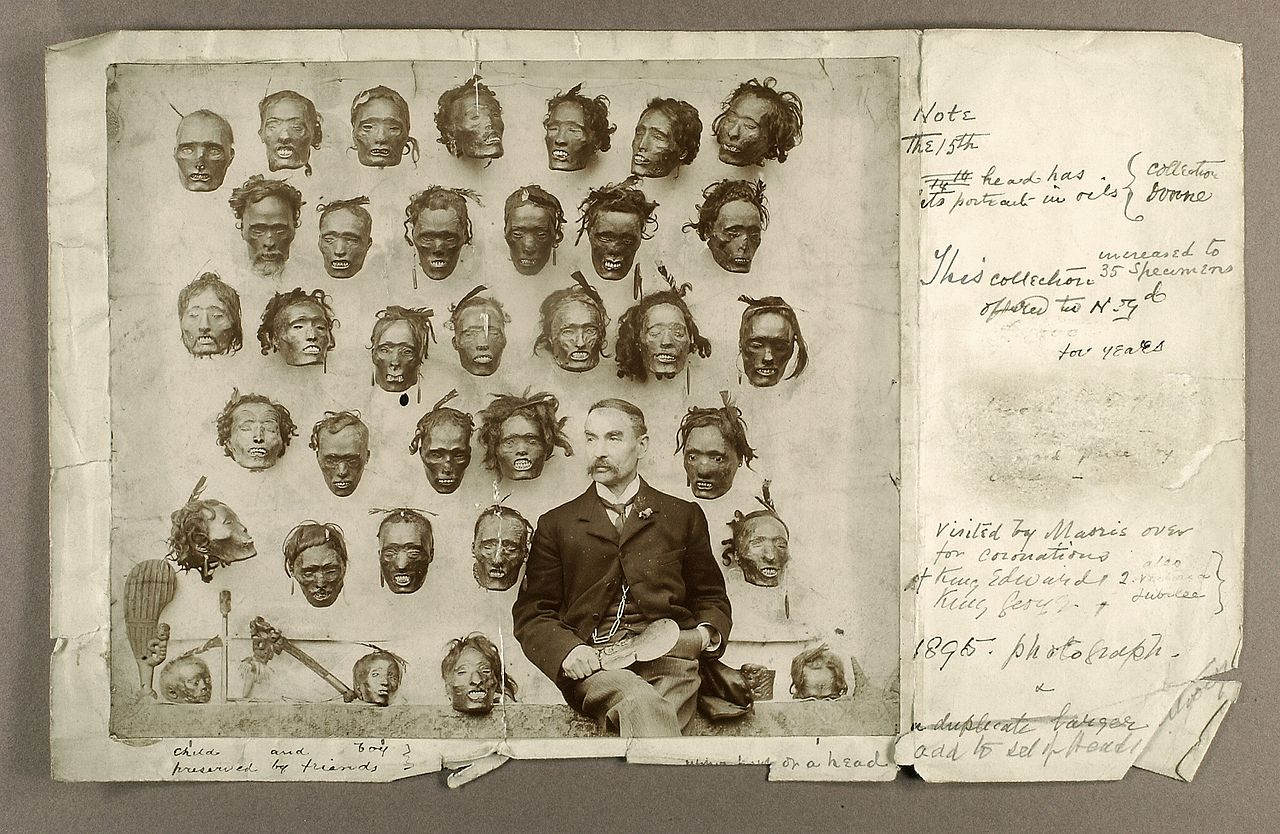 Horatio-Robley-with-his-head-collection-2