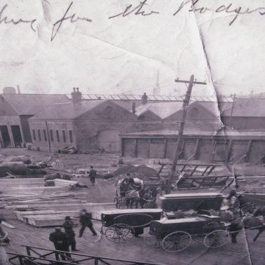Arrivée des corps à Halifax