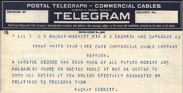 Titanic-telegram