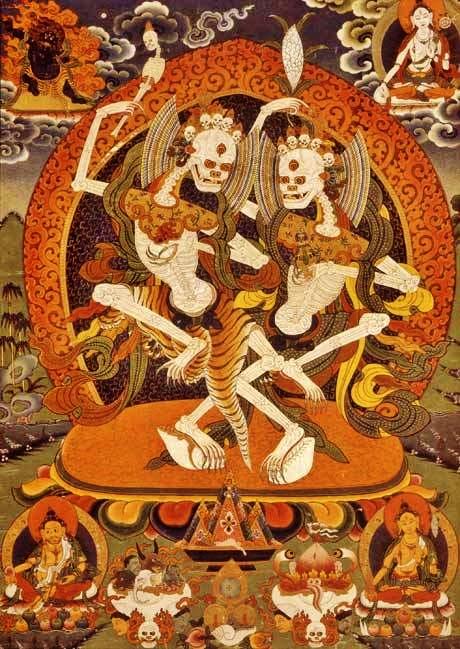 Tibetan-Skeleton-Dance